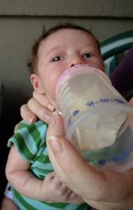 Breastmilk in Bottle